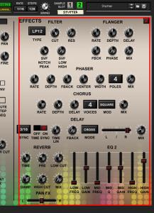 Mixfood Stutter 128 - Effects