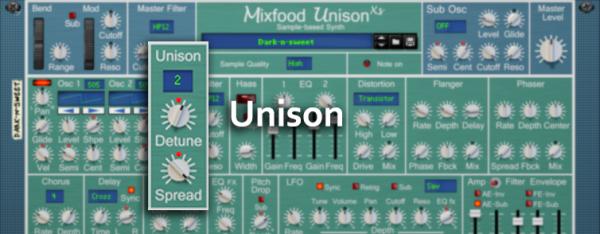 Mixfood Unison XS - Unison